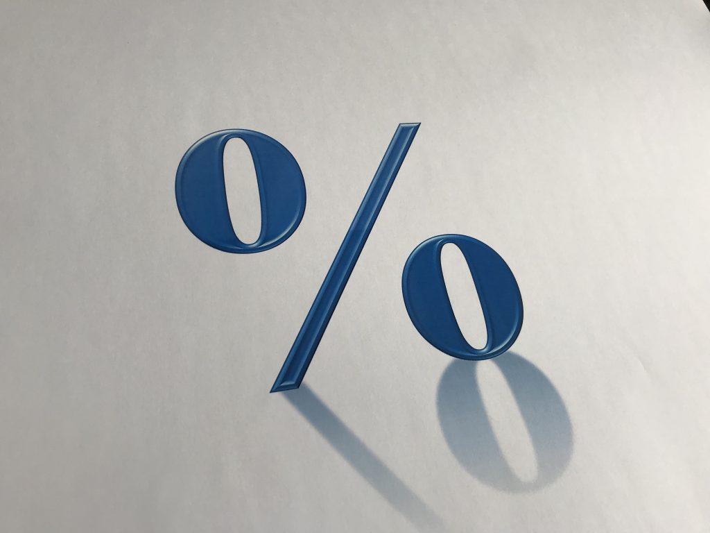 5% Zinsen